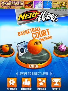 Nerf Hoops App by backflip studios