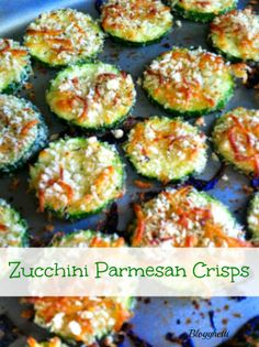Blogghetti: Zucchini Parmesan Crisps