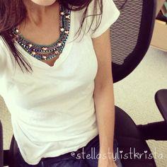 Stella & Dot Mercury Necklace