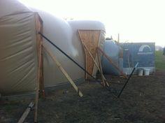 Monolithic Dome under Construction at MDI's Workshop - September 2012