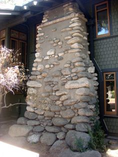 Upper Pasadena Arroyo Stone Chimney