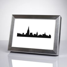 NYC Skyline Wall Art 5x7 now featured on Fab.
