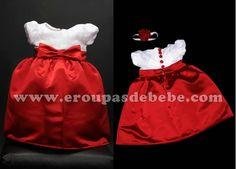 Vestidos de bebê para festa. Mais vestidos infantil podem ser conhecidos no site http://www.eroupasdebebe.com