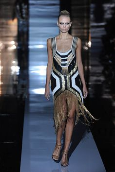 Gucci Spring 2012 woman fashion, modern art, gucci spring, flapper dresses, deco dress, latest fashion trends, fring, spring 2012, art deco