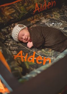 newborn baby boy lifestyle hunting camo Deer Park Friendswood, Tx Sarah Victoria Photography