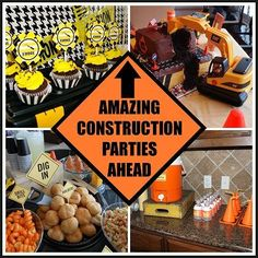 10 Amazing Creative Construction Parties!