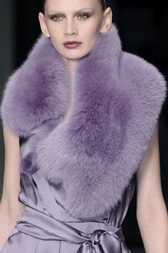 I love faux fur collars - they look great over, sweaters, coats and jeans jackets!  Lilac love