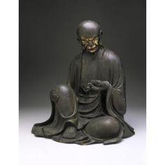 Portrait of an Arhat, Kamakura Period, 13th century, Geographic location: Japan, Dallas Museum of Art
