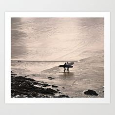 To Surf Art Print by  Alexia Miles photography - $15.60