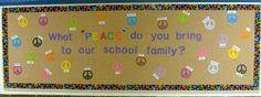 Bulletin board showcase