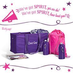 Hip, Hip, HOORAY! Cheer practice starts with Spirit.