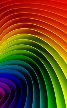 #bright #rainbow #colours #spectrum