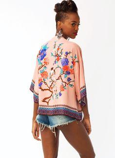 Songbird Kimono