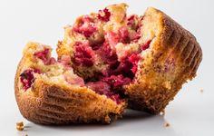 Gluten-Free Raspberry-Ginger Muffins - Bon Appétit