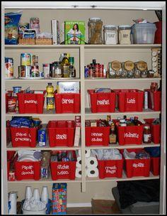Awesome kitchen organization!
