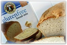 EGG-FREE SUBSTITUTIONS FOR KING ARTHUR FLOUR'S GLUTEN FREE BREAD MIX