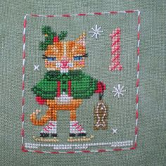 Katie Kitty Handspun Silk Thread Pack (Animal Advent No.1)