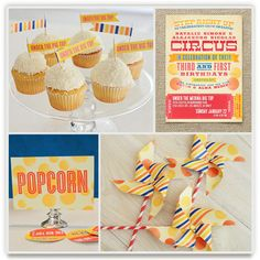 Greatest Circus Party Decor - so cute for baby's 1st birthday party.