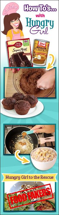 Hungry Girl's Videos: Recipe How-To's and More