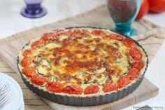 Cheesy zucchini tart