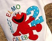 Boys Birthday Elmo