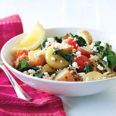 New Potato & Turkey Skillet Supper Recipe
