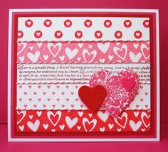 TRace's Tri's-my world of cards, scrapbooking, and Triathlons: Hearts
