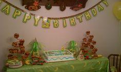 1st Birthday Monkey theme party