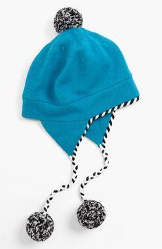 Kate Spade 'big apple' merino wool ski hat!
