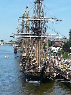 Tall Ship Celebration, Bay City, Michigan