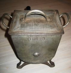 Fries Galvanized Flour Sifter