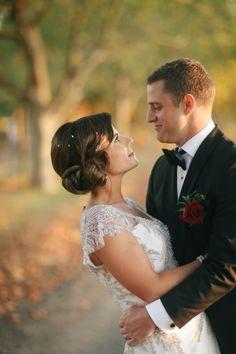 Glamorous Art Deco wedding: http://www.stylemepretty.com/australia-weddings/2014/06/16/glamorous-art-deco-wedding/ | Photography: http://www.velaimages.com/