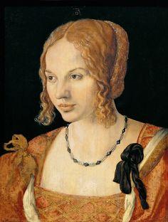 Albrecht Dürer: A Young Lady of Venice, 1505.
