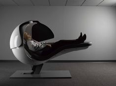 Futuristic Sleeping Pods Recharge Modern Workers