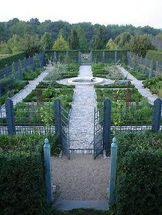 GARDENS POTAGER on Pinterest Potager Garden Raised Beds