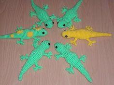 Crochet pattern | Free Gecko