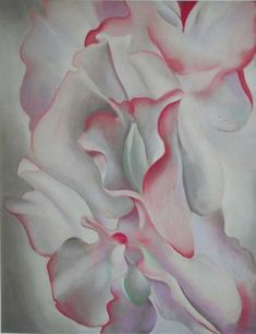 Georgia O'Keeffe - her work beautiful and startling - One of America's greatest modern artists - always ahead of her time...