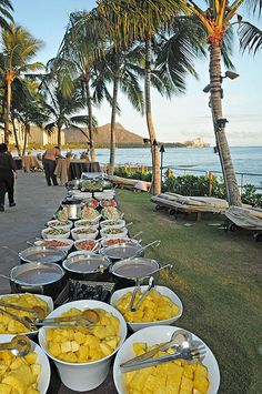 Hawaiian Luau Food