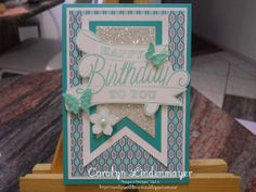 Carolyn's Card Creations: Happy Birthday to You