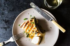 Grilled Swordfish with Lemon and Caper Sauce, a recipe on Food52