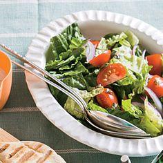 Chopped Romaine Salad | Cooking Light #myplate #veggies