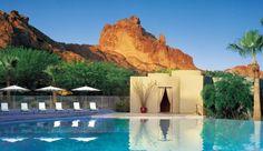 mountains, resorts, pool, spas, sanctuari, travel, place, united states, camelback mountain