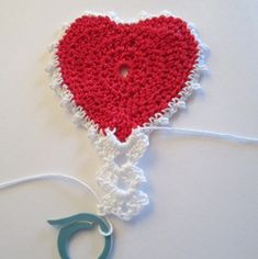 How to Crochet a Perfect Heart.