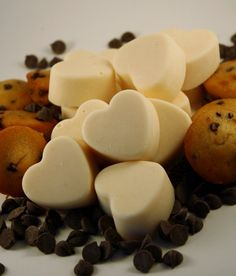 Soy Wax Melts  Soy Wax Tarts  Chocolate Chip by Blackberrythyme, $7.50