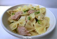 Insalata di pasta con tonno, zucchine e patate   Ricetta veloce