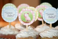 """""""some baby"""" Charlotte's Web baby shower"""