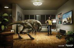 Panasonic 3D TV advertisement