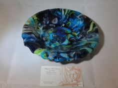 Fused Glass Decadence II Bowl by chneos on Etsy