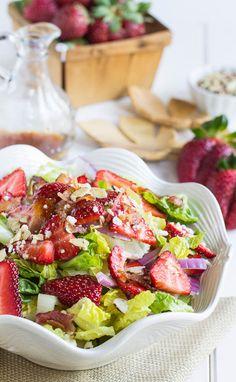 #Recipe: Strawberry, Bacon, and Feta Salad