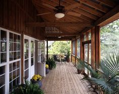 I love wrap-around porches